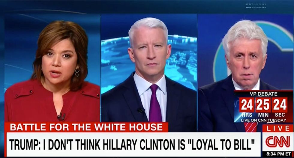 CNN's Navarro: Trump is 'driving drunk into a big beautiful brick wall' with his 'disgusting' campaign