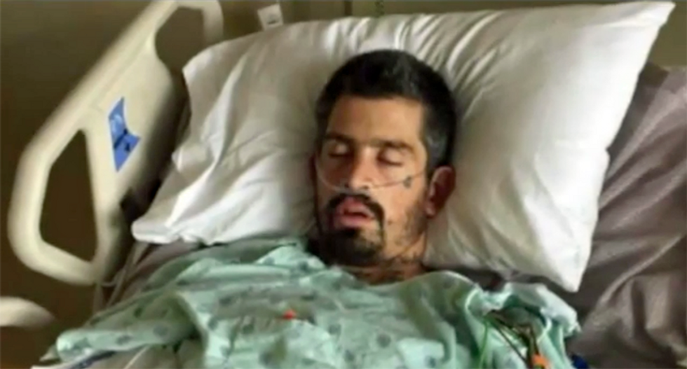 Incapacitated California man arrested 2 days after suing cops for brain-damage injuries suffered in previous arrest