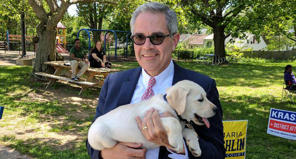 Philly cops threaten to 'b*tch slap' newly elected DA Larry Krasner who was backed by Black Lives Matter