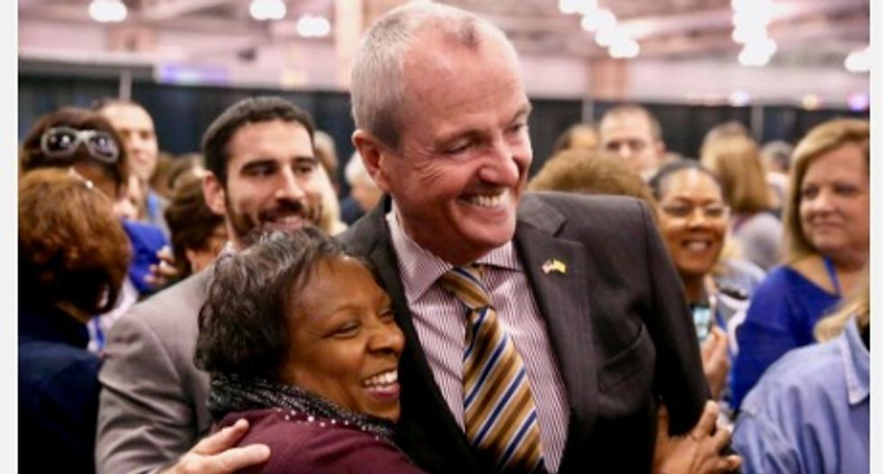 Phil Murphy gets hero's welcome at annual NJEA conference