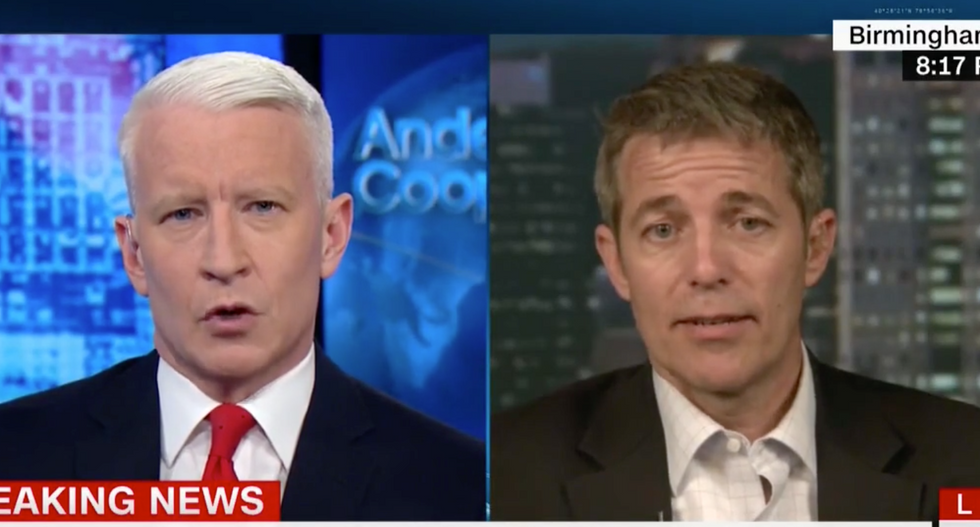 WATCH: CNN's Cooper battles GOP lawmaker who said Roy Moore's accusers should be prosecuted -- and it's a doozy