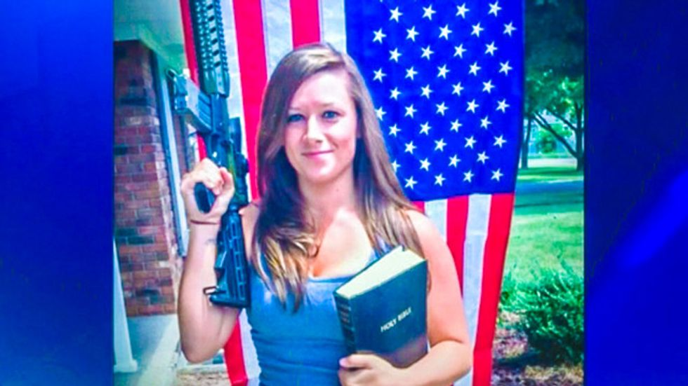 Gun-toting Christian mom admits to cheating on combat vet husband with Tea Party staffer