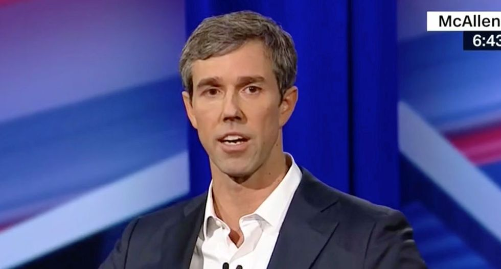 WATCH: Beto O'Rourke slams Trump's rhetoric as 'something we might've expected to hear in Nazi Germany'