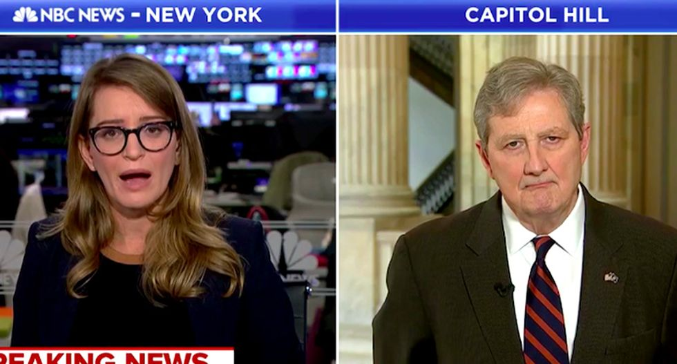 MSNBC's Katy Tur slaps down GOP's John Kennedy for saying we need to go easy on Saudi Arabia