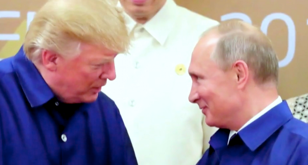 Morning Joe panel baffled by Trump: 'Why is he cozying up to Putin and making lovey-dovey eyes?'