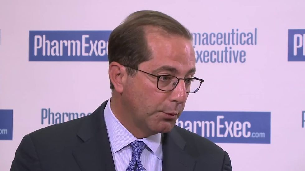 Trump nominates former pharma exec to run HHS -- and vows he'll be a 'star' for lower drug prices