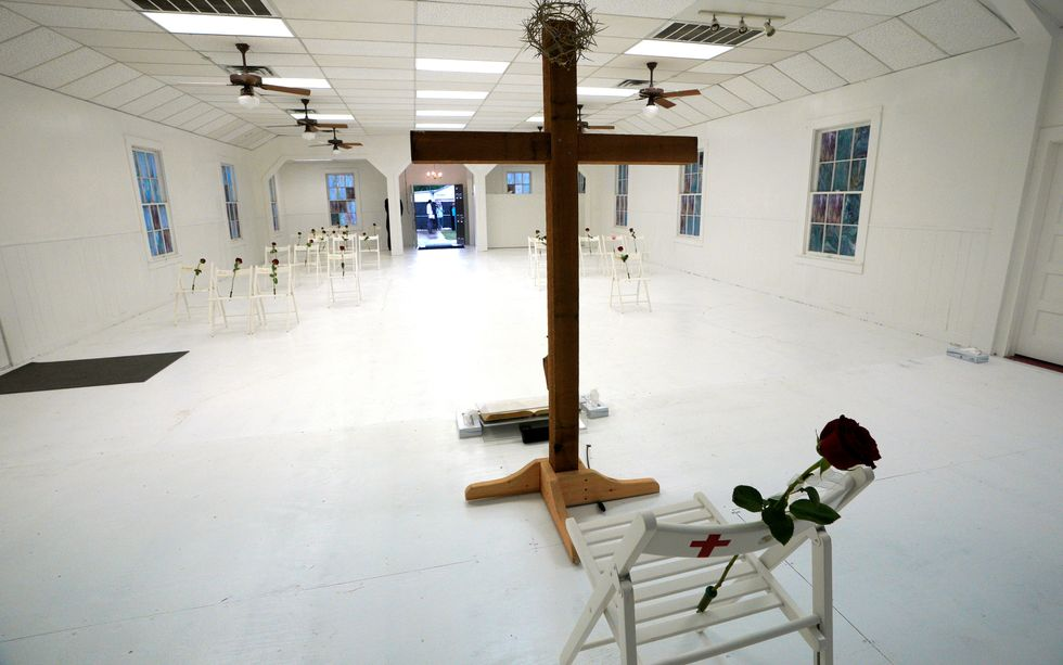 Texas town turns to faith for comfort after church mass shooting