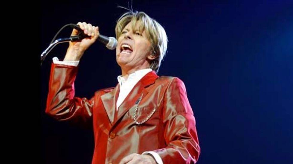 David Bowie, 67,  becomes oldest winner of Brit music award