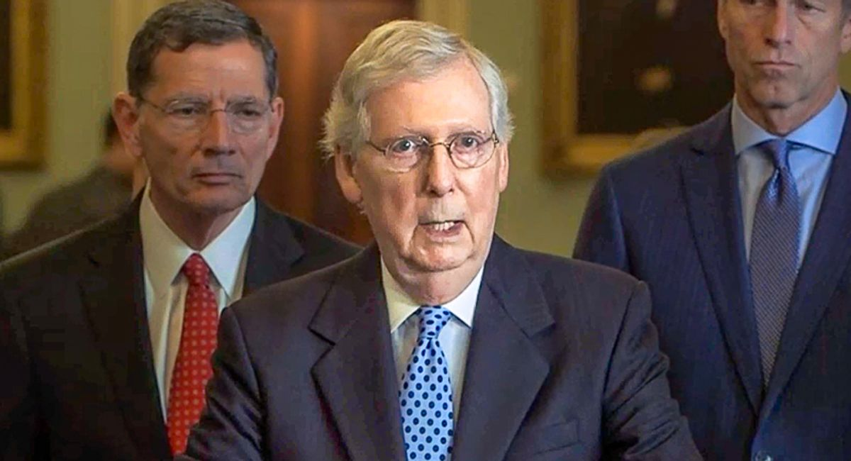 Kentucky columnist buries Mitch McConnell and his 'flea-infested' Republican Party