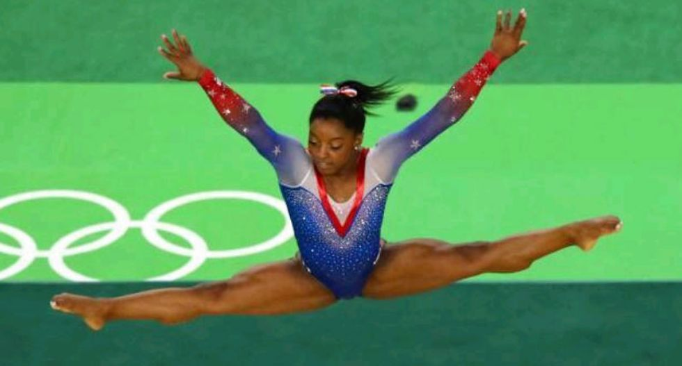 Four-time Olympic gold medalist Simone Biles accuses former USA gymnastics team doctor of sexual abuse