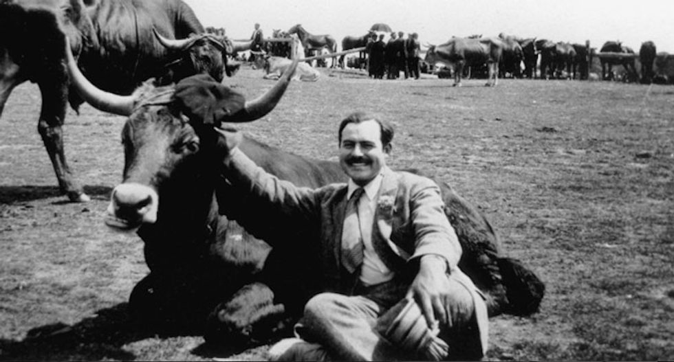 How a young Ernest Hemingway dealt with his first taste of fame