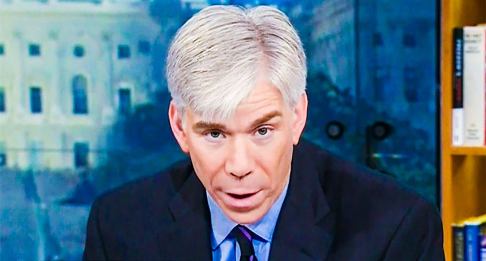 CNN's David Gregory rips Trump for being 'so insecure' he must brag about the way Asian countries treated him