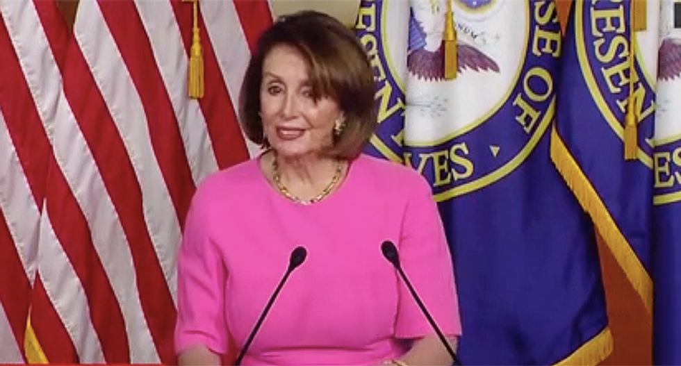 'He's afraid': Nancy Pelosi says Trump is clearly triggered by accusations of a 'cover-up'