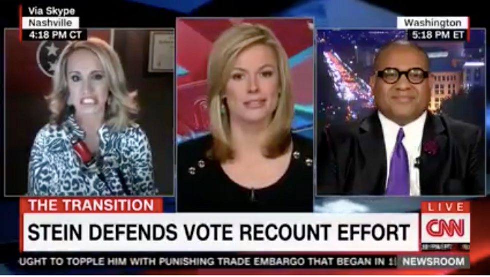 Trump supporter Scottie Nell Hughes says election recount donors are 'throwing their money away'