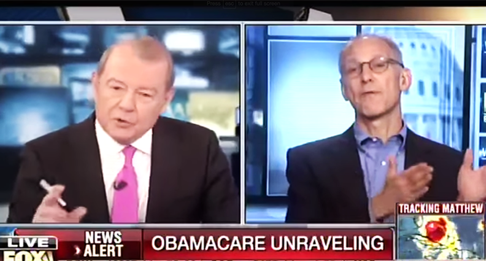 Fox Obamacare report goes south fast : 'Treat me like a guest instead of your punching opponent'