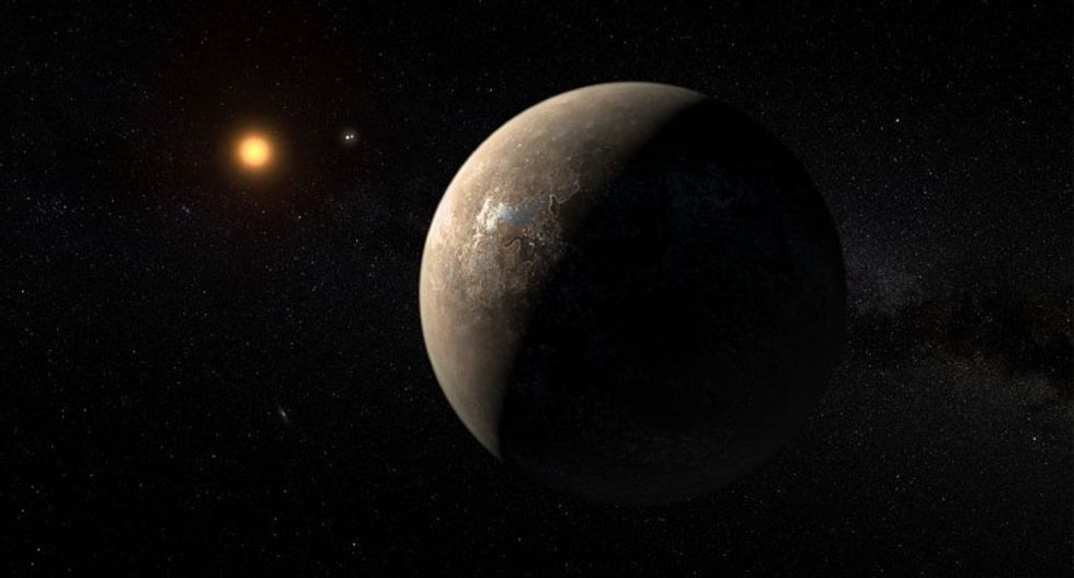 Planet in star system nearest our Sun 'may have oceans'