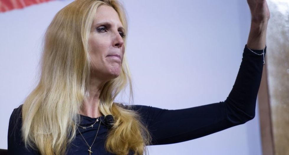Bitter Ann Coulter scolds Trump's wall plan: 'The only national emergency is our president is an idiot'