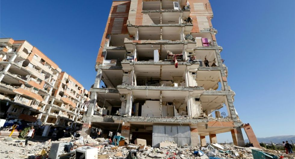 Israeli Prime Minister Benjamin Netanyahu offers earthquake aid to arch foe Iran
