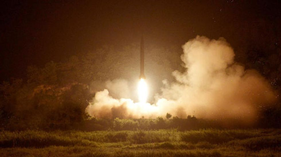 North Korea threatens nuclear strike on 'the sources of all evil' -- the White House