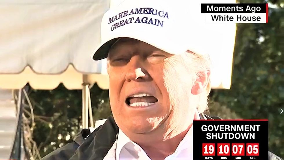 Trump bursts into a 'fake news' rant after learning about McConnell's new 'Moscow Mitch' nickname