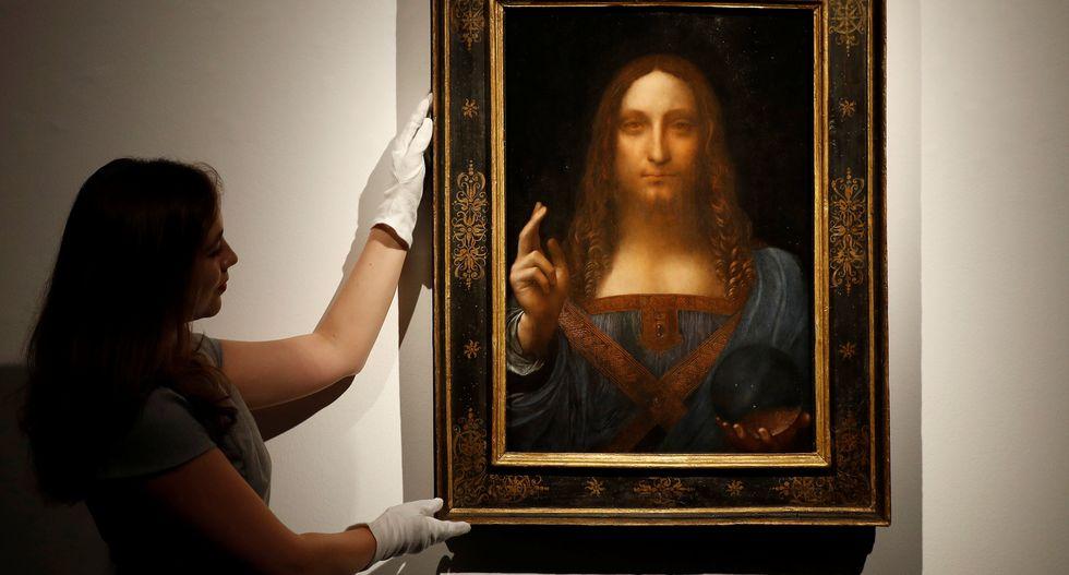 Da Vinci portrait of Christ sells for record $450 million in New York