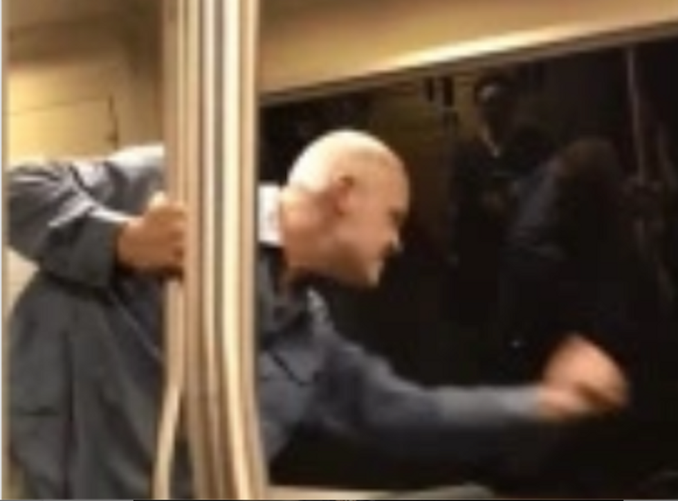 'Hate you Chinese f*ckers': California train passenger's 'deplorable' racist attack caught on video
