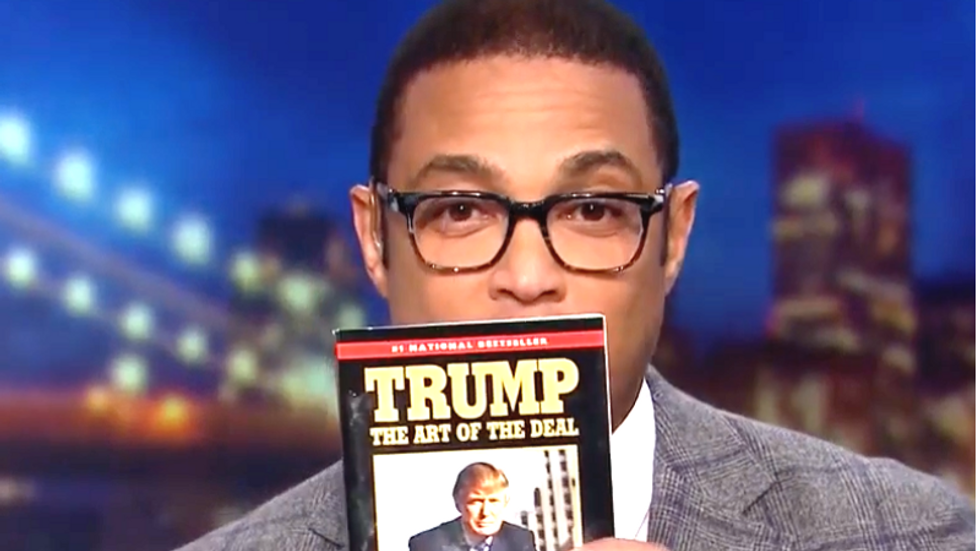 CNN's Don Lemon schools Trump on how to negotiate by reading 'The Art of the Deal'