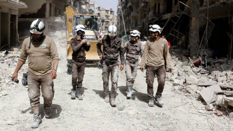 'We're dying for this:' Russian propaganda campaign targeted White Helmet rescue workers