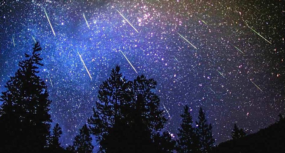 Draconid meteor shower peaks October 8th