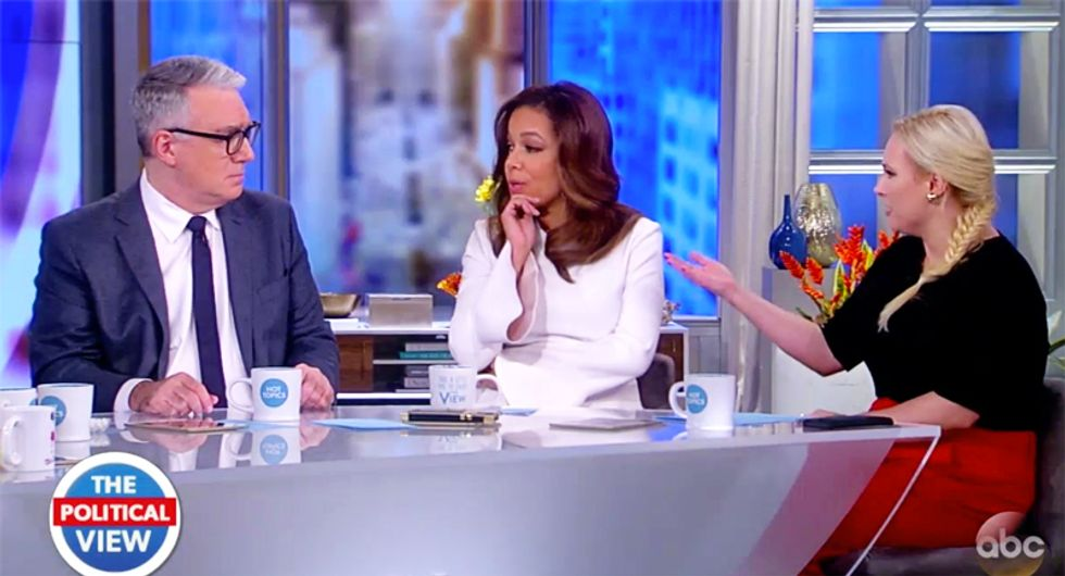WATCH: Keith Olbermann and Meghan McCain battle over Trump being more damaging to US than bin Laden