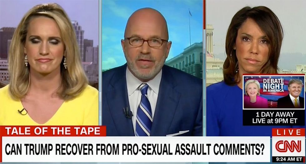 CNN conservative: Trump's 'p*ssy' comments are the 'death knell of his campaign - this race is over'