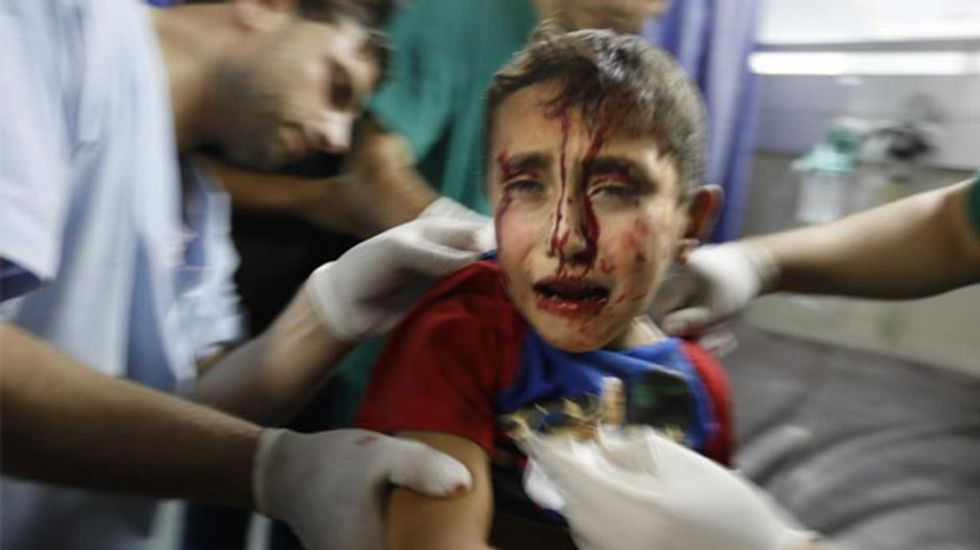 Gaza 12-hour humanitarian ceasefire truce begins