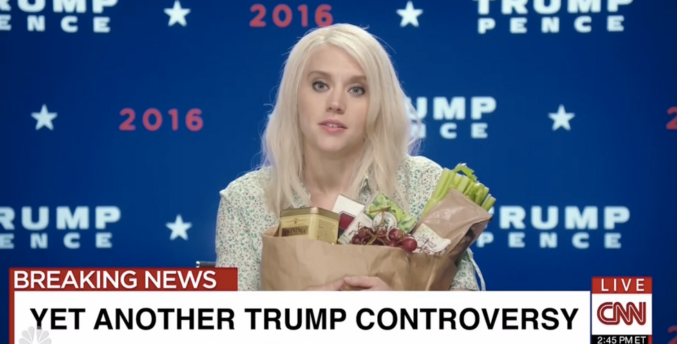 Kate McKinnon's 'Day Off' sketch on SNL makes us actually sympathize with the real Kellyanne Conway