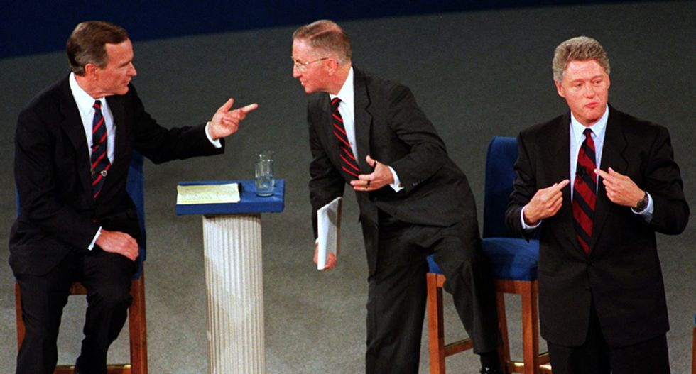 24 years of town hall debates: Here are the winners and losers -- and the weird