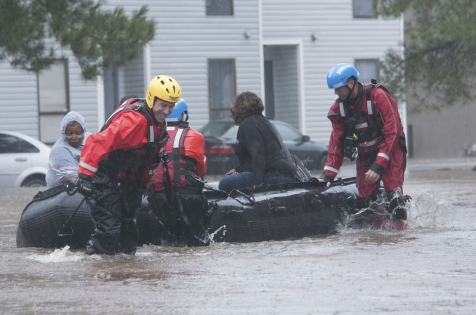 North Carolina floodwaters, death toll rise as Matthew heads to sea