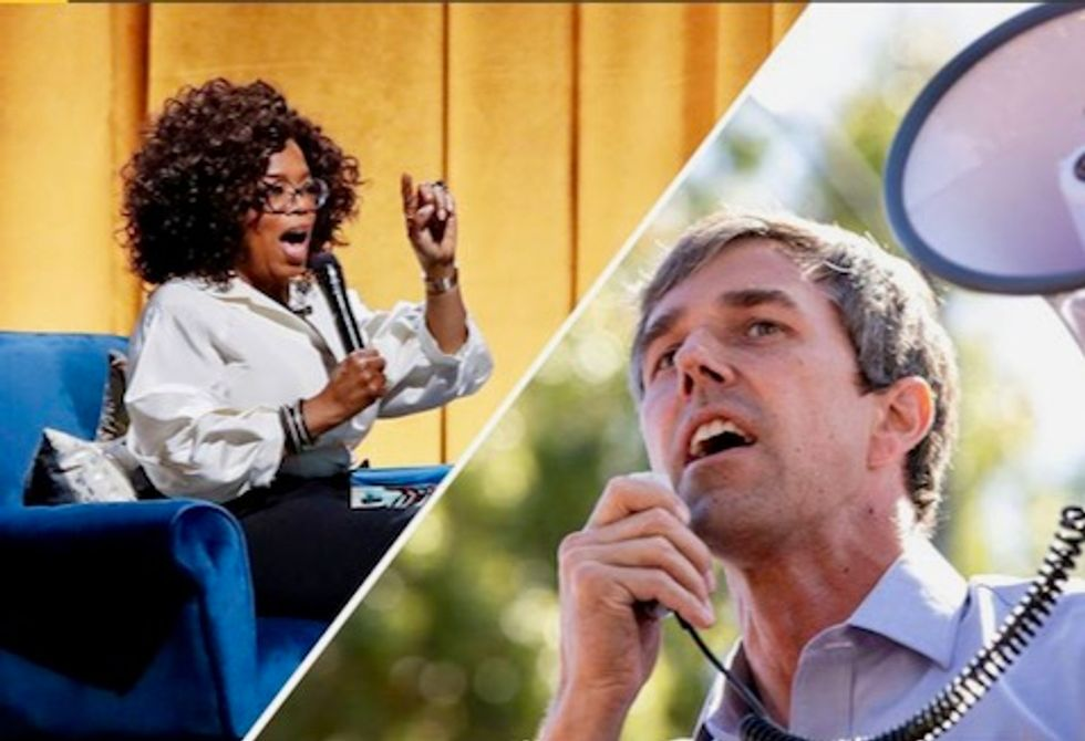 Oprah to interview Beto O'Rourke in New York in February