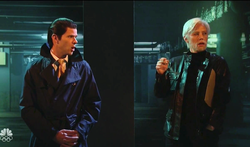 SNL hilariously re-enacts Donald Trump Jr. -- and Eric's -- liaison with WikiLeaks' Julian Assange