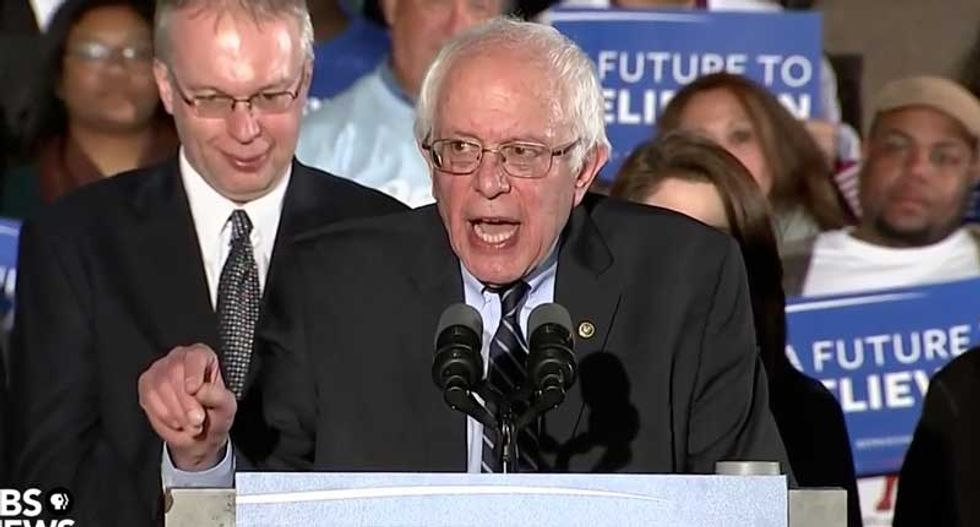 Bernie Sanders' New Hampshire primary victory speech (full transcript and video)