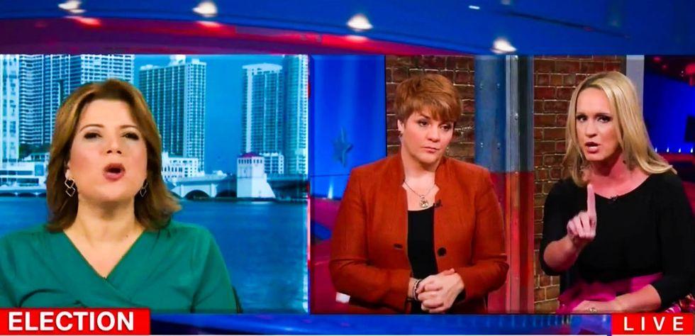 WATCH: Ana Navarro lays waste to Scottie Nell Hughes for trying to whitewash Trump's gross behavior