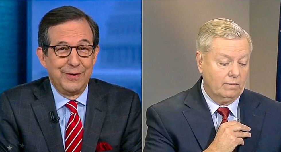 WATCH: Lindsey Graham rips off mic and storms off Fox  after questions about replacing Ruth Bader Ginsburg