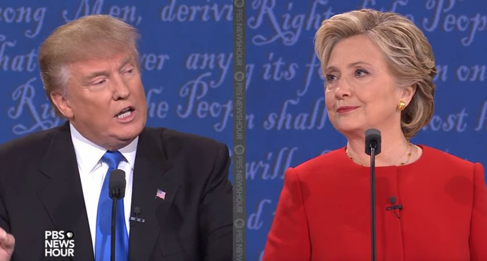 Clinton and Trump push closing arguments as markets fret over tight race