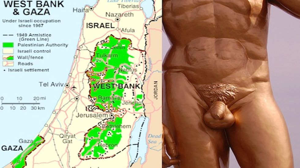 What uncircumcised penises and the Israeli-Palestinian conflict have in common