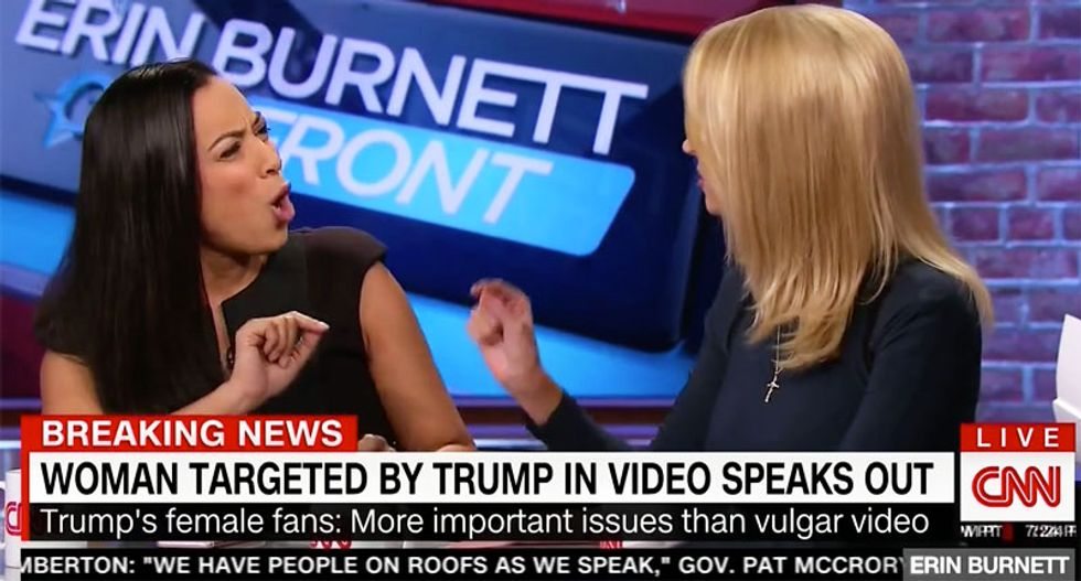 'This is f'ing ridiculous!': Angela Rye shreds Kayleigh McEnany for blaming Hillary for Bill's adultery