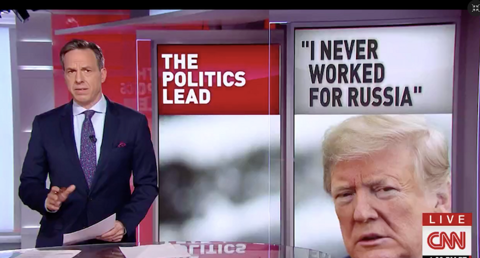 CNN's Jake Tapper unveils a devastating list of Trump's suspicious connections to Russia