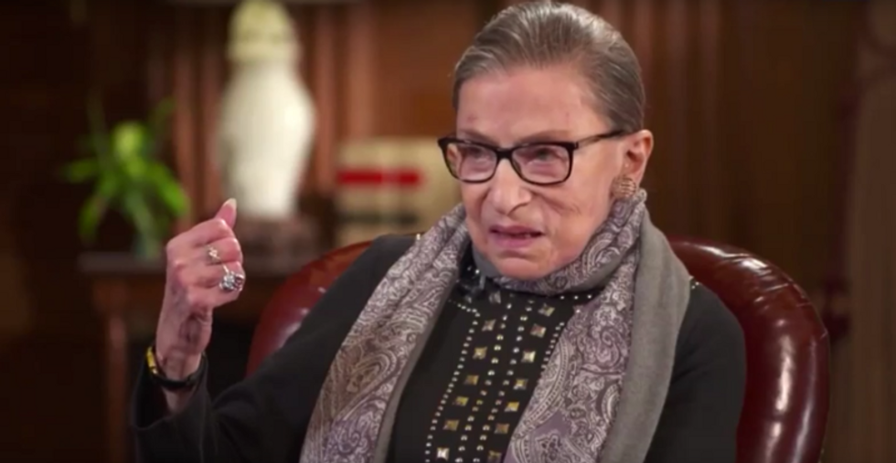 Ruth Bader Ginsburg casts deciding vote to block Trump's new restrictions on asylum