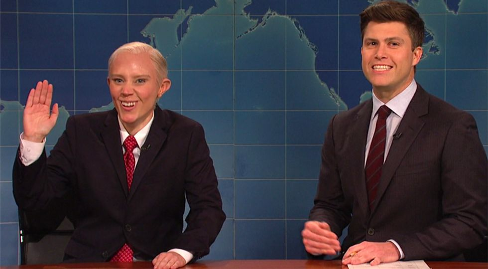 SNL's Jeff Sessions reveals 'childhood trauma' that prevents him from recalling meeting with Russians