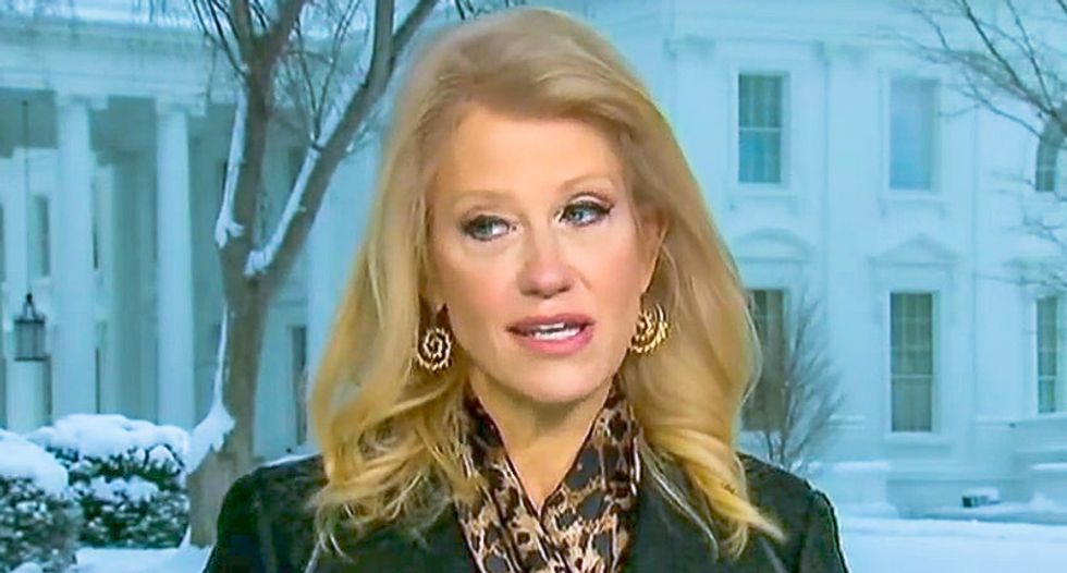 Kellyanne Conway: 'Rogue actors at the very tippy-top of the FBI' were disloyal to President Trump