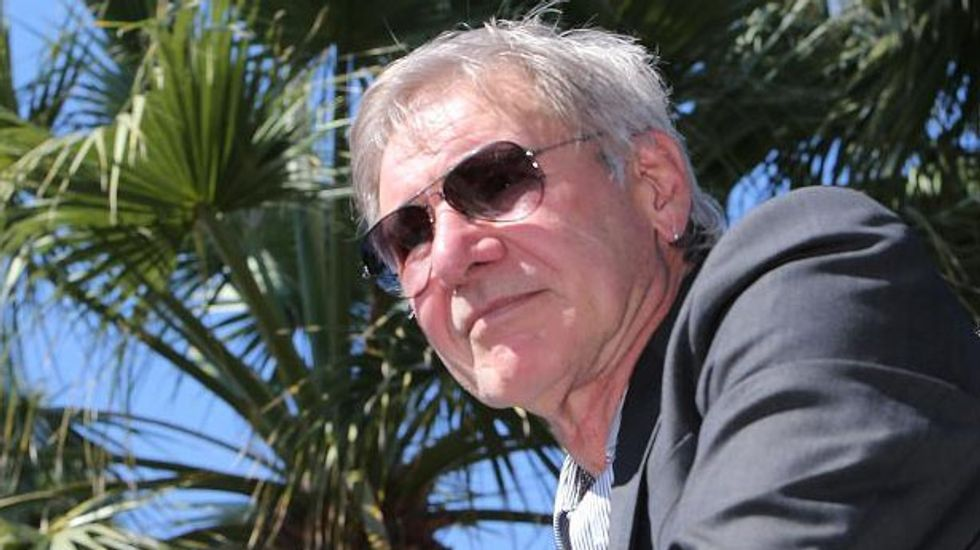 Harrison Ford broke leg, not ankle, on 'Star Wars' set