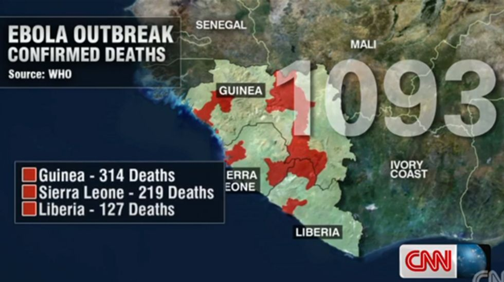 American doctor infected with Ebola in Liberia outbreak