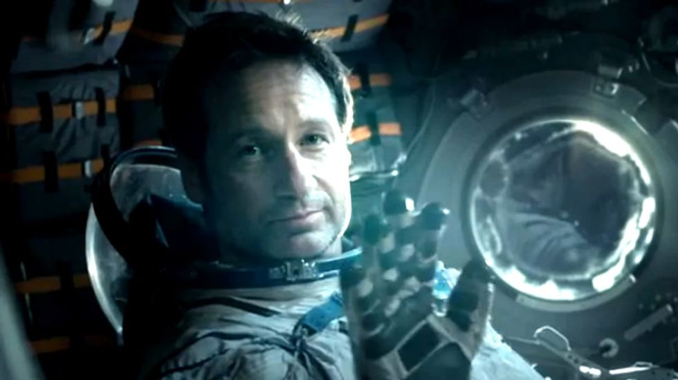 X-Files star David Duchovny sparks controversy with ultra-patriotic Russian beer ad